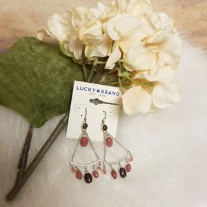 🆕️ Lucky Brand semi precious accents earrings